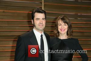 Ron Livingston and Rosemarie DeWitt - Vanity Fair Oscar Party - Arrivals - Los Angeles, California, United States - Sunday...