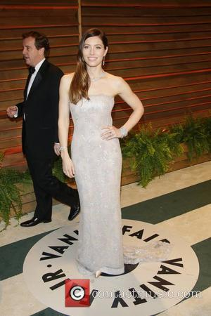 Jessica Biel - Vanity Fair Oscar Party - Arrivals - Los Angeles, California, United States - Sunday 2nd March 2014