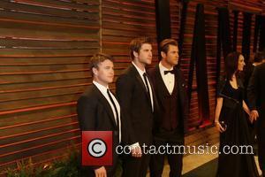 Luke Hemsworth (l-r), Liam Hemsworth and Chris Hemsworth