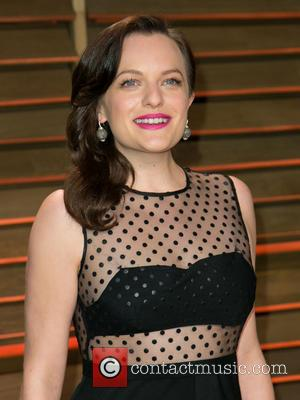 Elisabeth Moss - Vanity Fair Oscar Party - Arrivals - Los Angeles, California, United States - Sunday 2nd March 2014