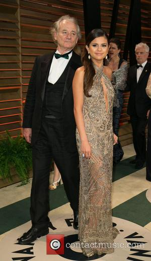 Bill Murray and Selena Gomez - 2014 Vanity Fair Oscar Party held at Sunset Tower in West Hollywood - Arrivals...