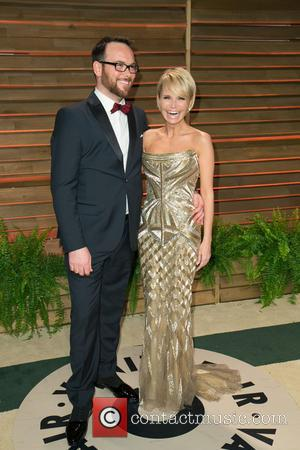 Dana Brunetti and Kristin Chenoweth - 2014 Vanity Fair Oscar Party held at Sunset Tower in West Hollywood - Arrivals...