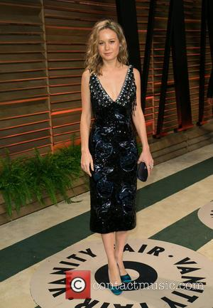 Brie Larson - Celebrities attend 2014 Vanity Fair Oscar Party at Sunset Plaza. - Los Angeles, California, United States -...
