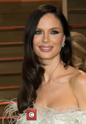 Georgina Chapman - Celebrities attend 2014 Vanity Fair Oscar Party at Sunset Plaza. - Los Angeles, California, United States -...