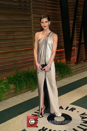 Hilary Rhoda - Celebrities attend 2014 Vanity Fair Oscar Party at Sunset Plaza. - Los Angeles, California, United States -...