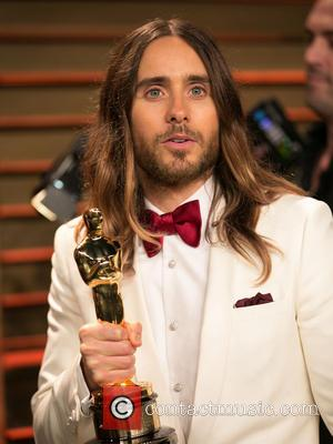 Jared Leto's 'Dallas Buyers Club' Oscar Trophy Is A
