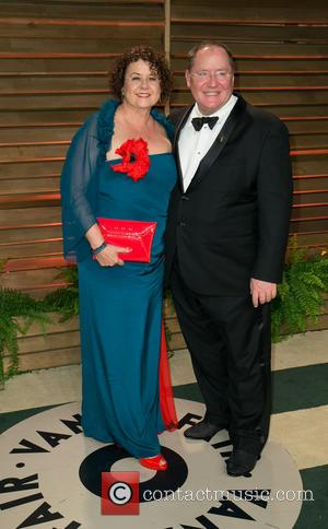 Nancy Lasseter and John Lasseter