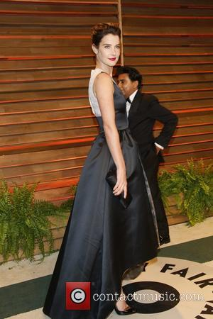 Cobie Smulders - Celebrities attend 2014 Vanity Fair Oscar Party at Sunset Plaza. - Los Angeles, United States - Sunday...