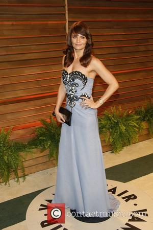 Helena Christensen - Celebrities attend 2014 Vanity Fair Oscar Party at Sunset Plaza. - Los Angeles, United States - Sunday...