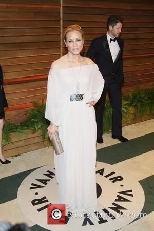 Maria Bello - Celebrities attend 2014 Vanity Fair Oscar Party at Sunset Plaza. - Los Angeles, United States - Sunday...