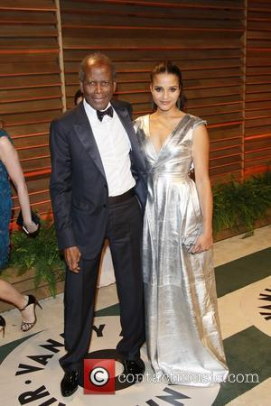 Sydney Tamiia Poitier, Actor Sidney Poitier and Vanity Fair
