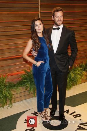 Armie Hammer (r) and wife Elizabeth Chambers - 2014 Vanity Fair Oscar Party in West Hollywood - London, United Kingdom...