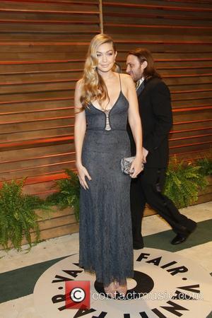 Model Gigi Hadid - 2014 Vanity Fair Oscar Party in West Hollywood - London, United Kingdom - Sunday 2nd March...
