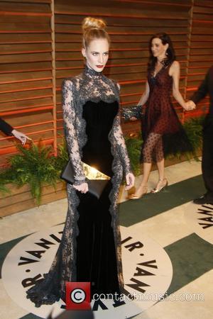 Poppy Delevingne - 2014 Vanity Fair Oscar Party in West Hollywood - London, United Kingdom - Sunday 2nd March 2014