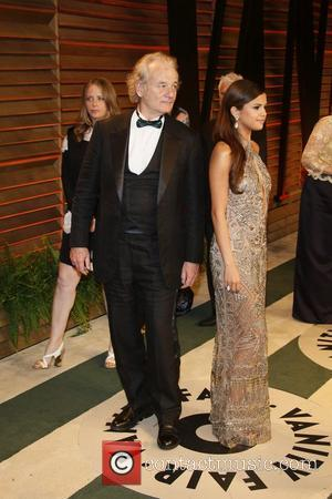 Selena Gomez and Bill Murray - 2014 Vanity Fair Oscar Party in West Hollywood - London, United Kingdom - Sunday...