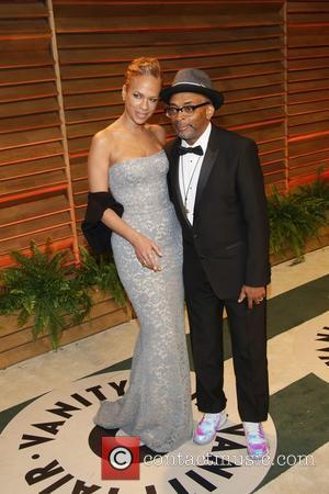Tonya Lewis Lee and Spike Lee - 2014 Vanity Fair Oscar Party in West Hollywood - London, United Kingdom -...