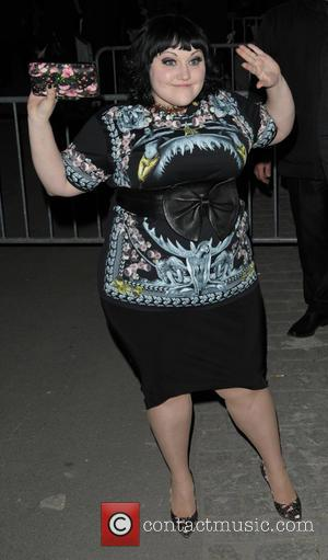 Beth Ditto - Paris Fashion Week Autumn/Winter 2014 - Givenchy - Outside Arrivals - Paris, France - Sunday 2nd March...