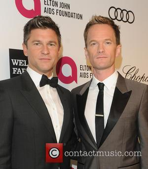 Neil Patrick Harris  Daved Burtka - 22nd Annual Elton John AIDS Foundation Academy Awards Viewing/After Party - Arrivals - Los...