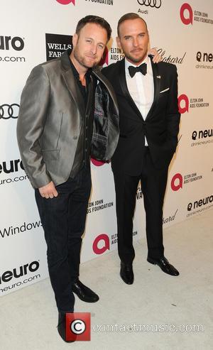 Matt Goss, Chris Harrison and Elton John