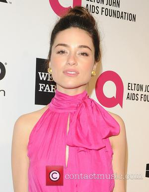 Crystal Reed - 22nd Annual Elton John AIDS Foundation Academy Awards Viewing/After Party - Arrivals - West Hollywood, California, United...