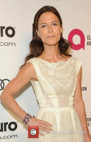 Rhona Mitra - 22nd Annual Elton John AIDS Foundation Academy Awards Viewing/After Party - Arrivals - West Hollywood, California, United...
