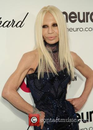Donatella Versace - 22nd Annual Elton John AIDS Foundation Academy Awards Viewing/After Party - Arrivals - West Hollywood, California, United...