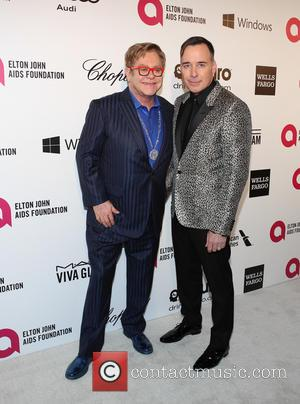 Elton John and David Furnish - 22nd Annual Elton John AIDS Foundation Academy Awards Viewing/After Party - Arrivals - West...