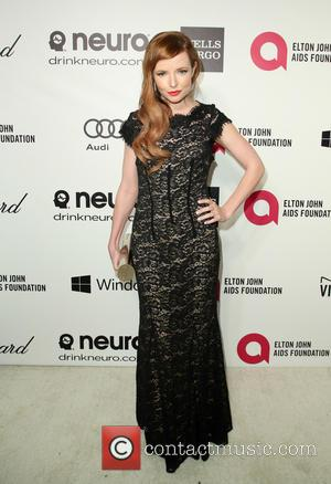Stef Dawson - Elton John AIDS Foundation Oscar Party Arrivals at the Pacific Design Center in West Hollywood, California. -...