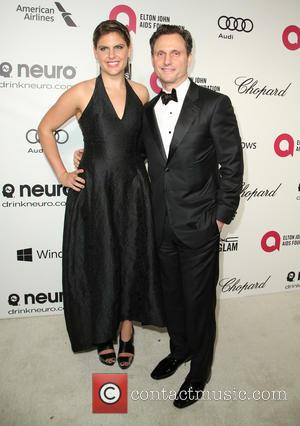 Tony Goldwyn - Elton John AIDS Foundation Oscar Party Arrivals at the Pacific Design Center in West Hollywood, California. -...