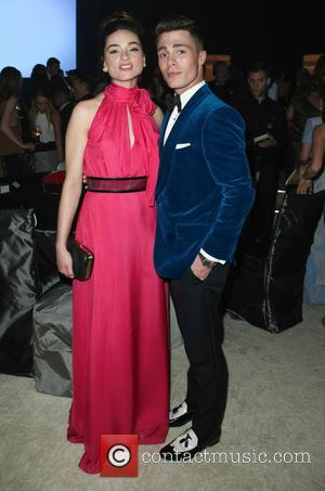 Crystal Reed - 22nd Annual Elton John AIDS Foundation Academy Awards Viewing/After Party - Inside - Los Angeles, California, United...