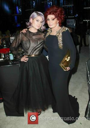 Kelly Osbourne and Sharon Osbourne - 22nd Annual Elton John AIDS Foundation Academy Awards Viewing/After Party - Inside - Los...