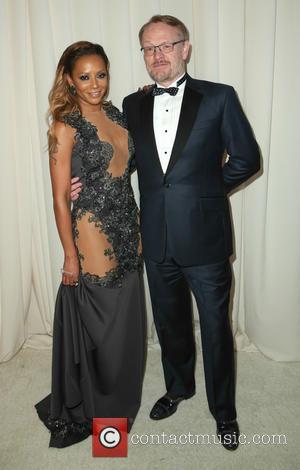 Melanie Brown and Jared Harris