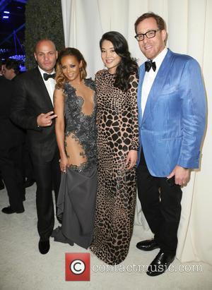 Stephen Belafonte, Melanie Brown and Mel B