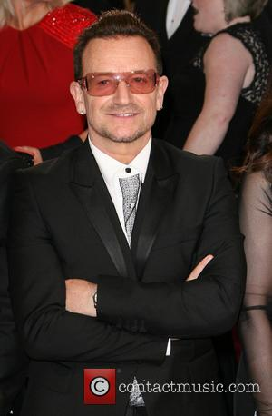 Bono - The 86th Annual Oscars held at Dolby Theatre - Red Carpet Arrivals - Los Angeles, California, United States...