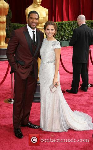 Maria Menounos and Michael Strahan