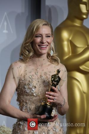 Cate Blanchett - The 86th Annual Oscars - Press Room