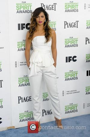 Camila Alves McConaughey - The 2014 Film Independent Spirit Awards arrivals - Los Angeles, California, United States - Sunday 2nd...