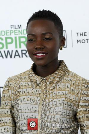 Lupita Nyong'o - The 2014 Film Independent Spirit Awards arrivals - Los Angeles, California, United States - Sunday 2nd March...