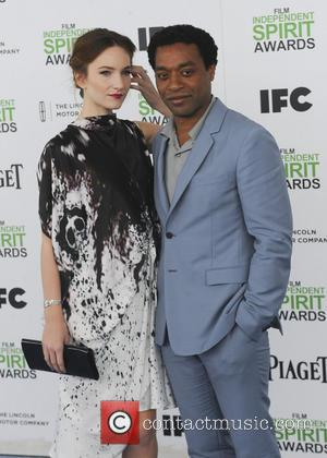 Chiwetel Ejiofor and Sari Mercer - The 2014 Film Independent Spirit Awards arrivals - Los Angeles, California, United States -...