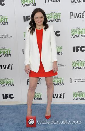 Elisabeth Moss - The 2014 Film Independent Spirit Awards arrivals - Los Angeles, California, United States - Sunday 2nd March...
