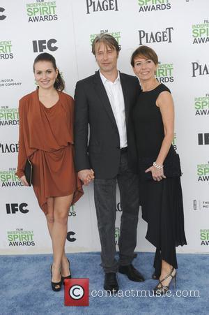 Mads Mikkelsen, Hanne Jacobsen and Viola Mikkense