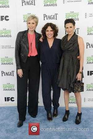 Jane Lynch, Michaela Watkins and Jill Soloway