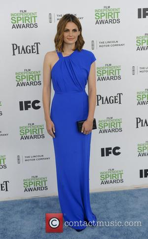 Stana Katic - The 2014 Film Independent Spirit Awards arrivals - Los Angeles, California, United States - Sunday 2nd March...