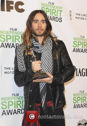 Jared Leto - The 2014 Film Independent Spirit Awards pressroom - Los Angeles, California, United States - Sunday 2nd March...