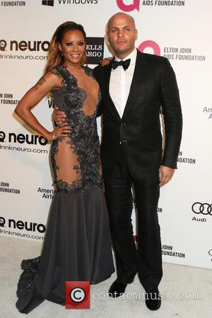 Melanie Brown and Stephen Belafonte