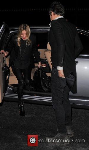 Jamie Hince and Kate Moss - Kate Moss and Jamie Hince at the Meurice - Paris, France - Monday 3rd...