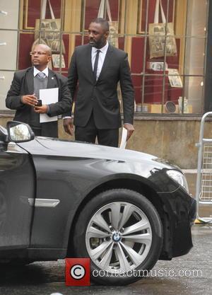 Idris Elba - Nelson Mandela memorial service at Westminster Abbey - London, United Kingdom - Monday 3rd March 2014