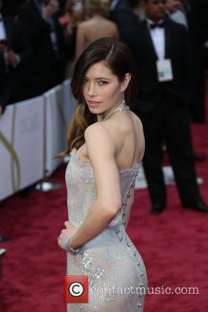 Jessica Biel - The 86th Annual Oscars held at Dolby Theatre - Red Carpet Arrivals - London, United Kingdom -...