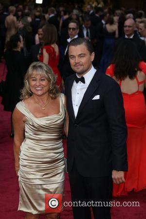 Leonardo DiCaprio and his mother Irmelin