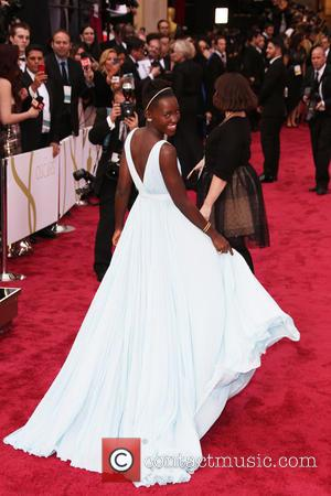 Lupita Nyong'o - The 86th Annual Oscars held at Dolby Theatre - Red Carpet Arrivals - London, United Kingdom -...